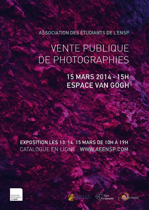 Vente de photographies AEENSP 2014