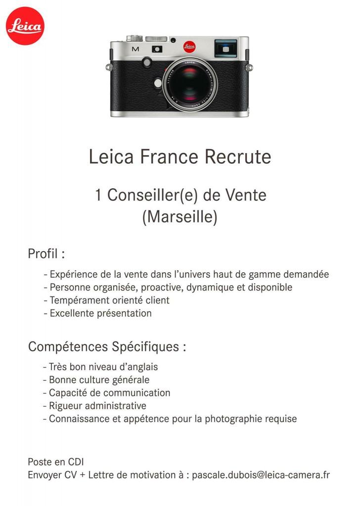 offre d'emploi leica