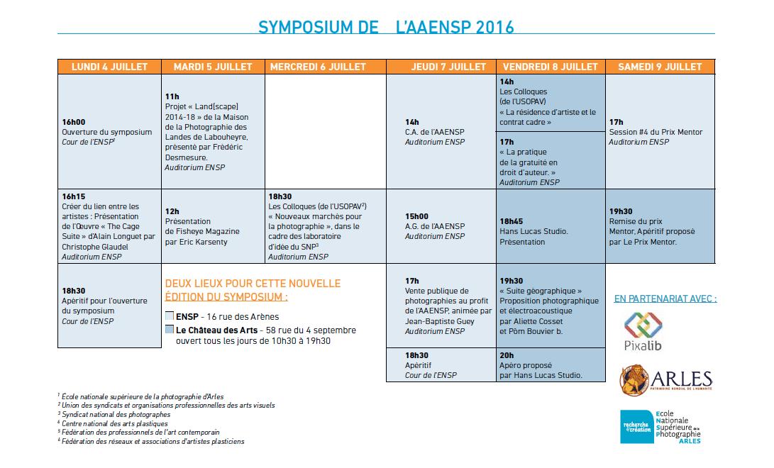programme symposium 2016