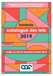Catalogue de la tombola 2019 de l'AAENSP